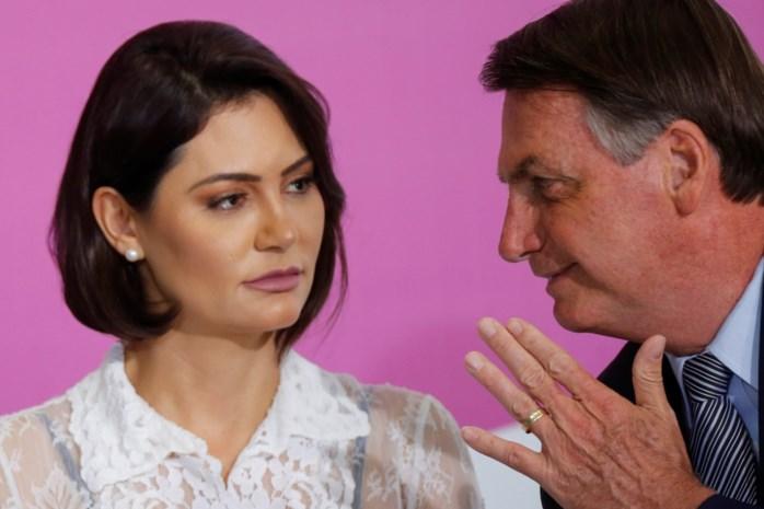 Echtgenote Braziliaanse president test positief op Covid-19