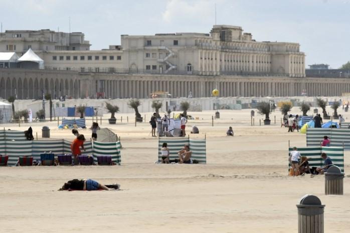 Oostendse stranden vandaag zo goed als volzet
