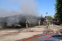 Technische loods van dienstencentrum De Meander door vuur verwoest