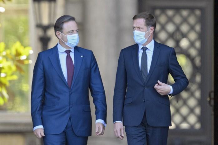 """Bart De Wever: """"Niemand is nog voorstander van de MR in de regering"""""""