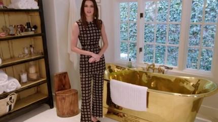 Een gouden badkuip en geen televisie in de living: binnenkijken in het stulpje van topmodel Kendall Jenner