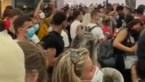 Chaos aan station Oostende: duizenden dagtoeristen op elkaar gepakt, politie moet ingrijpen