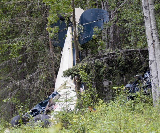 Vliegtuigen botsen in de lucht in Alaska: zeven mensen komen om