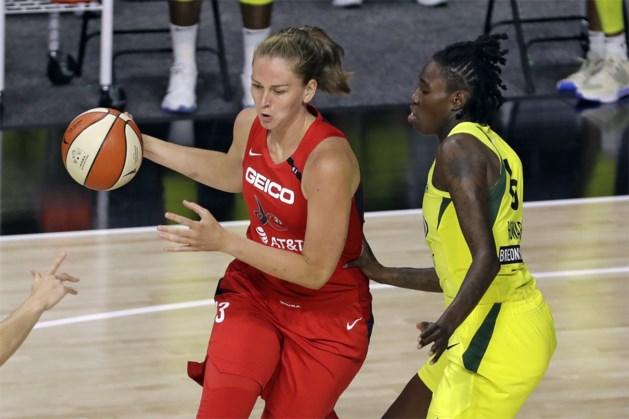 Emma Meesseman en Washington blijven winnen en verslaan nu ook titelconcurrent Seattle in de WNBA