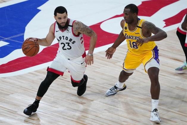Kampioen Toronto smeert LA Lakers nederlaag aan