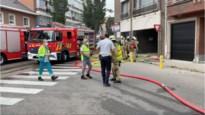 Bewoners geëvacueerd voor brand in garage