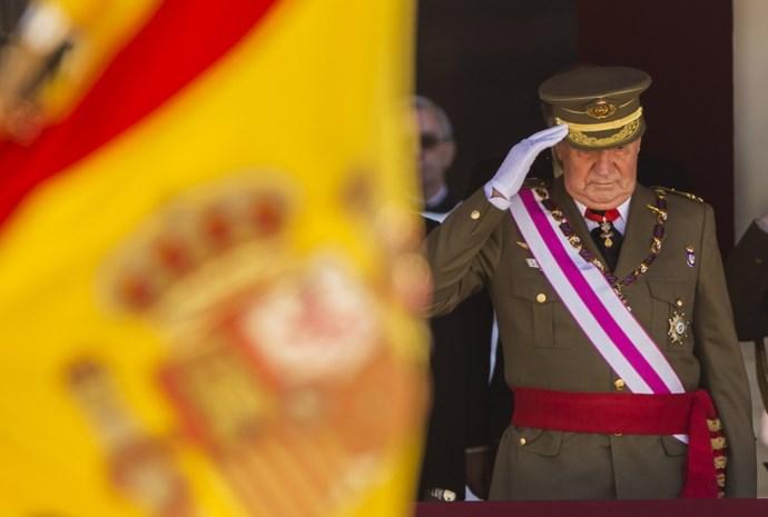 Voormalig koning Juan Carlos heeft Spanje al ontvlucht en woont in Portugal