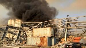 Zeer zware ontploffing in haven van Beiroet: tientallen mensen gewond en minstens tien doden