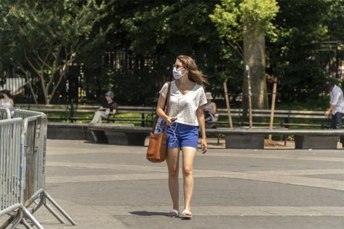 """Hoe maak je een mondmasker dragelijk tijdens een hittegolf? """"Zorg dat je rustig blijft ademen"""""""