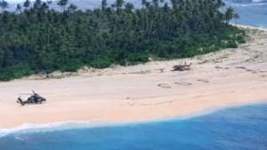 Cast Away in het echt: SOS op strand redt schipbreukelingen van onbewoond eiland
