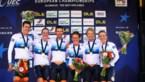 Nederland verdedigt Europese titel gemengde ploegentijdrit niet