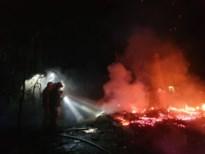 Chalet uitgebrand in bosgebied aan rand van Oudsberg