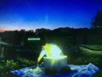 Lichtkrans van Labiomista tot stadhuis om motten te vangen