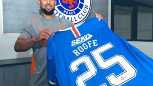 Anderlecht-spits Roofe naar Rangers