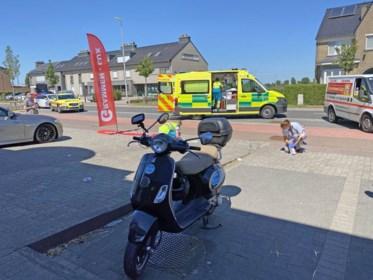 Twee gewonden bij ongeval met Vespa in Sint-Truiden