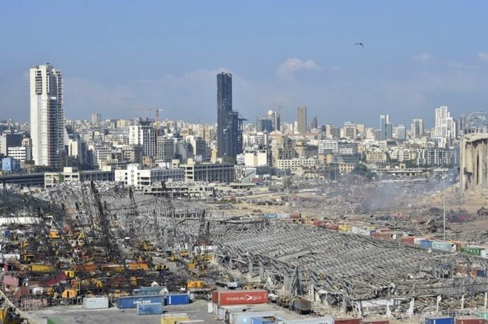 "Gouverneur van Beiroet: ""Meer dan 200.000 mensen dakloos"""