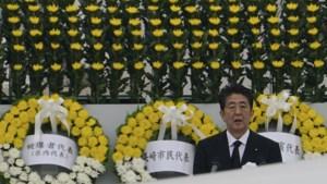 Japanse premier roept op tot afschaffen kernwapens bij herdenking Hiroshima