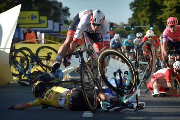 """Fabio Jakobsen niet enige slachtoffer van val, Deceuninck - Quick-Step start in tweede rit: """"Mental coach naar Polen gevlogen"""""""
