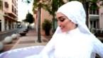 Bruid in Beiroet krijgt schrik van haar leven door explosie