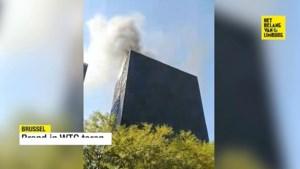 Brand in Brusselse WTC-toren geblust, geen gewonden