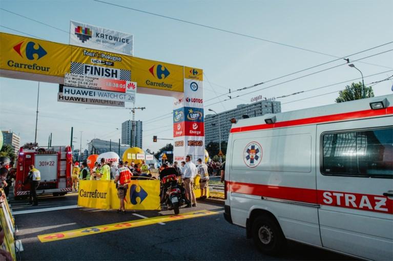 """Voorzichtig positief nieuws uit Polen: vandaag poging om """"stabiele"""" Fabio Jakobsen na operatie van vijf uur te laten ontwaken"""