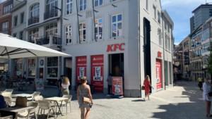 KFC in Hasselt onverwacht open: donderdag en vrijdag gratis eten