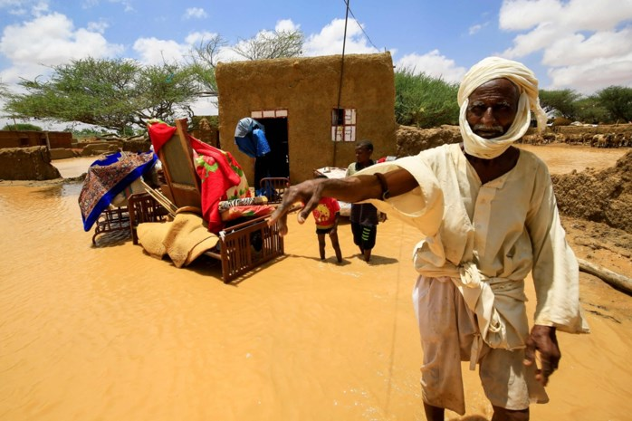 Tien doden en drieduizend vernielde huizen door overstromingen in Soedan