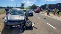 Vier gewonden na misgelopen inhaalmanoeuvre op grens Lanaken-Zutendaal