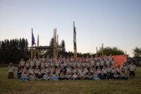 Scouts Rumanzeis beleven geweldig piratenkamp in Büllingen