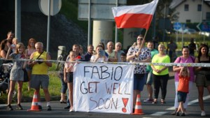 """Fabio Jakobsen is opnieuw wakker na horrorcrash: """"Zijn toestand is goed"""""""