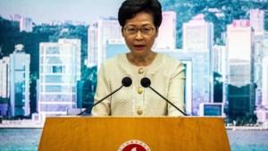 Amerika legt sancties op aan Hongkongse regeringshoofd Lam