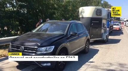 Twee ongevallen op E313 tussen Klaverblad Lummen en werken in Paal