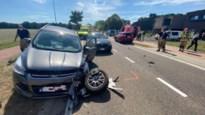 Drie wagens betrokken bij botsing tijdens voorbijsteken