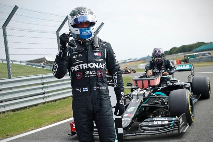 Bottas troeft Hamilton af in strijd om pole, Verstappen vierde