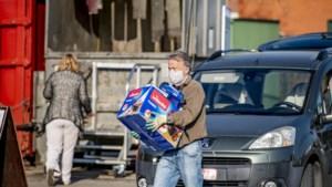 Containerpark enkel in voormiddag geopend door hitte