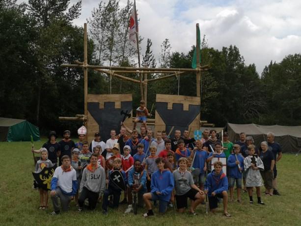 Jongens KSA Lutlommel genieten van bivak in eigen bubbel in Herselt