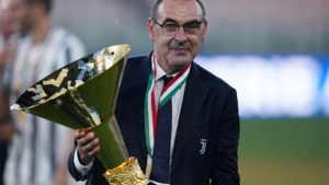 Juventus zet Maurizio Sarri al na één seizoen op straat