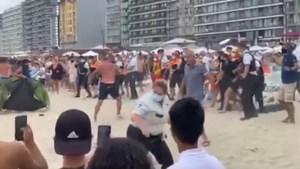 Massale vechtpartij op het strand van Blankenberge