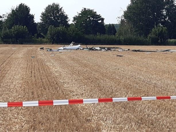 Zweefvliegtuig neergestort bij Tienen: meisje (18) en piloot komen om het leven