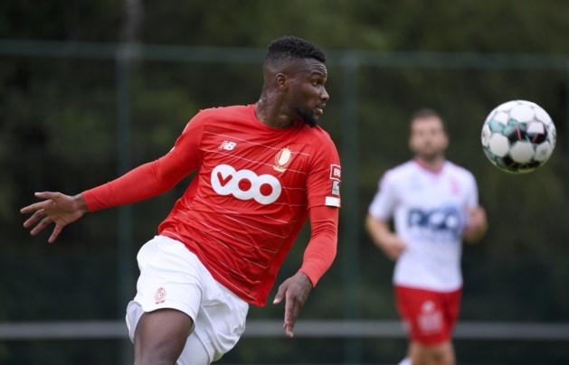 Obbi Oulare speelt bij Standard in oefenverlies tegen Union