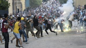 Woedende Libanezen op straat tegen politiek