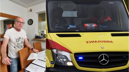 """""""Ambulance naar ziekenhuis kost 259 euro. Alsof ziek zijn alleen nog niet genoeg is"""""""