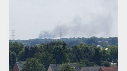 Brandweer bestrijdt bosbrand in Lommel: hinder mogelijk en versterking gevraagd