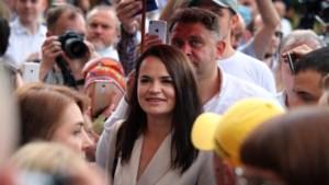 """Wit-Russische oppositiekandidate Tichanovskaja is """"veilig"""" en bevindt zich in Litouwen"""