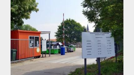 Containerpark sluit vroeger door hitte