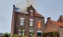 Tweede dag onweer boven Limburg: bliksem slaat in op huis in Maasmechelen