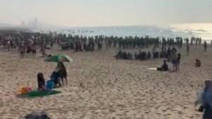 Tumult op strand Oostende, politie massaal ter plaatse