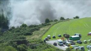 Trein ontspoord in Schotse Aberdeenshire