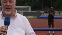 """Lukaku verstoort tv-uitzending en doet bijnaam alle eer aan: """"Romelu is overal, maar ECHT overal"""""""