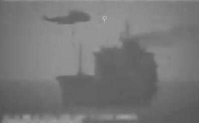Iraans leger neemt (even) schip over in internationale wateren